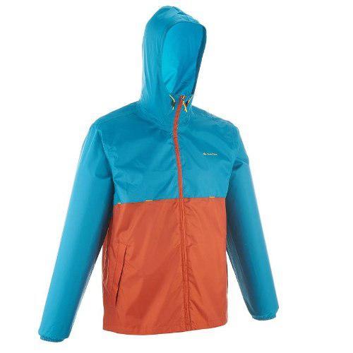 Chamarra impermeable hombre raincut naranja/azul 8492520 2