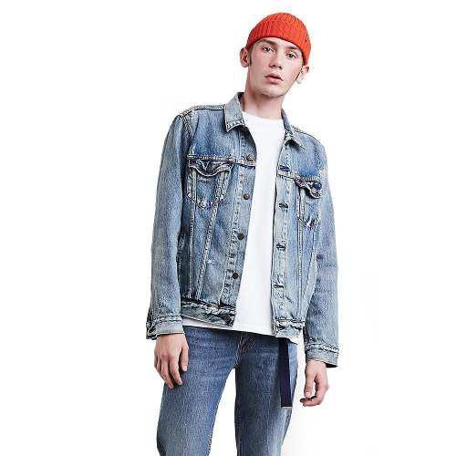 Chamarra levi's® hombre the trucker jacket philco trucker