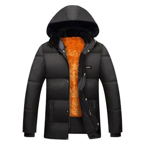 Chaqueta chamarra gruesa hombre abrigo impermeable de moda