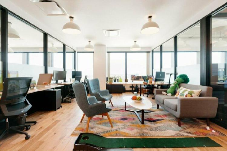 Hurban renta oficinas equipadas y con servicios en monterrey