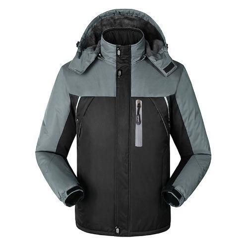 Hombres 's impermeable a prueba de viento vellón chaqueta
