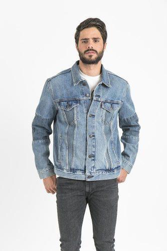 Levi's® hombre chamarra piece trucker jacket altered