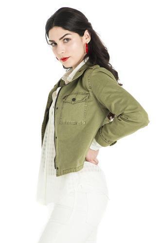 Levi's® mujer chamarra cropped trucker jacket giiil-lw44