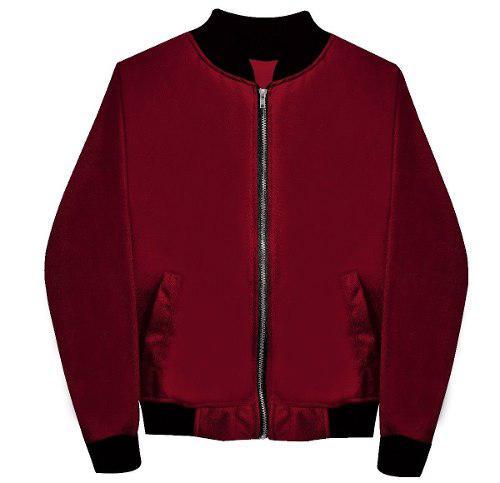 Sakura moda japonesa chamarra bomber jacket lluvia unisex