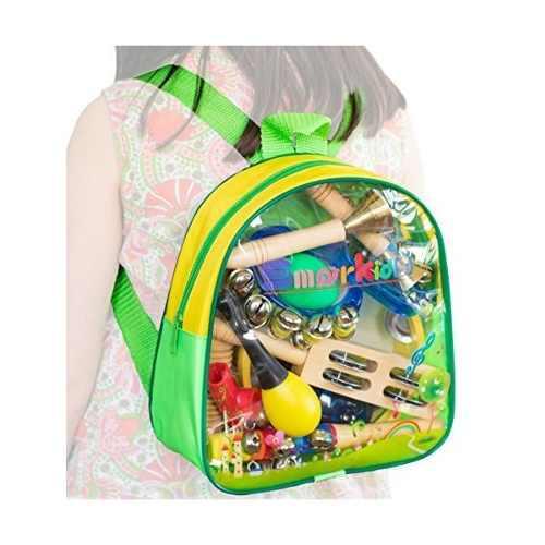 Smarkids para niños instrumentos musicales de percusión 15