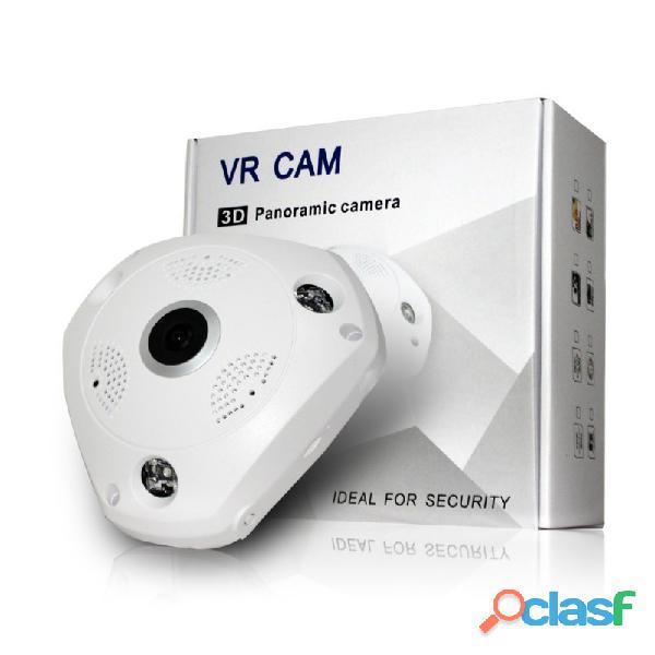 Cámara de seguridad ip fisheye 360° ir para interiores