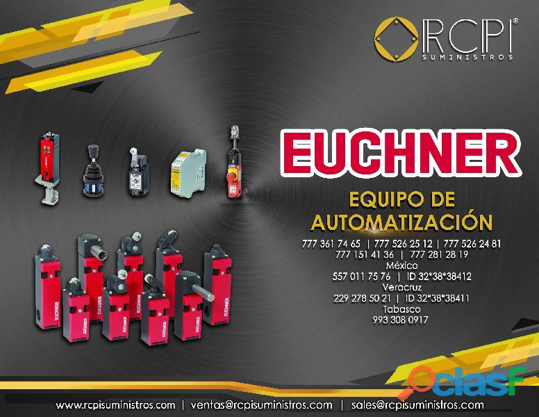 Equipos de automatización Euchner