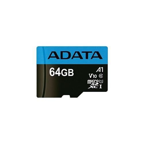 Adata memoria micro sd hx 64gb uhs-i clase 10 celular a1 /v