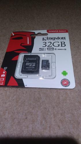 Kingston memoria micro sd 32gb clase 10 original