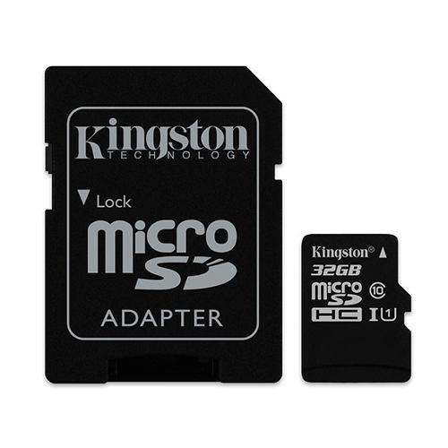 Memoria kingston micro sd 32gb c10 celular cámara tablet