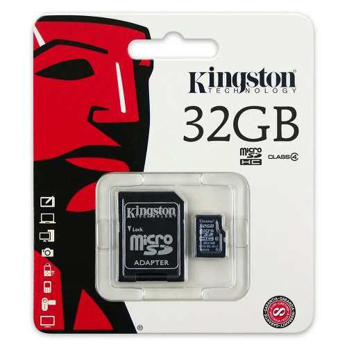 Memoria kingston micro sdhc 32gb clase 4
