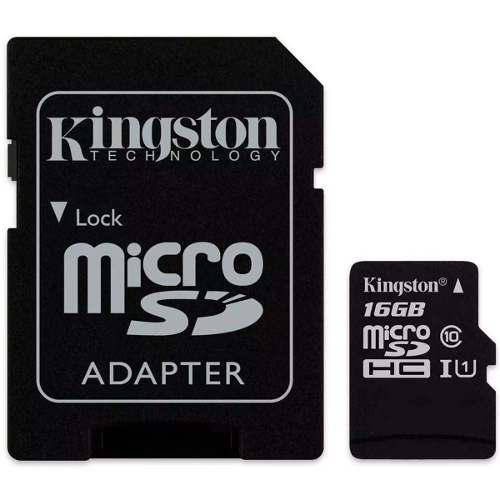 Memoria micro sd 16gb clase10 nuevo kingston sdcs/16gb