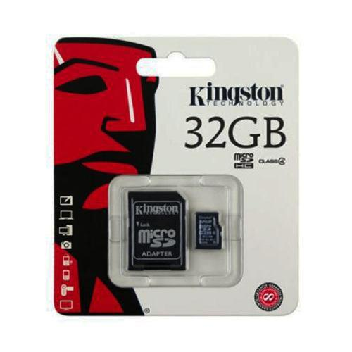 Memoria micro sd 32gb kingston clase 4 celular mayoreo nueva