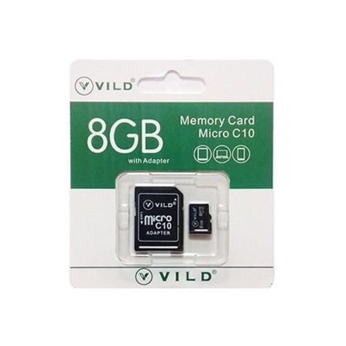 Memoria micro sd 8gb vild clase 10 con adaptador