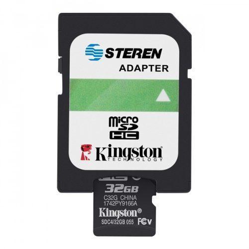 Memoria micro sd de 32 gb, clase 4 | msd-032/micro