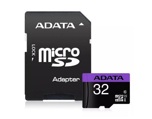 Memoria micro sdhc 32gb uhs-i clase10 celulares camara 50mb