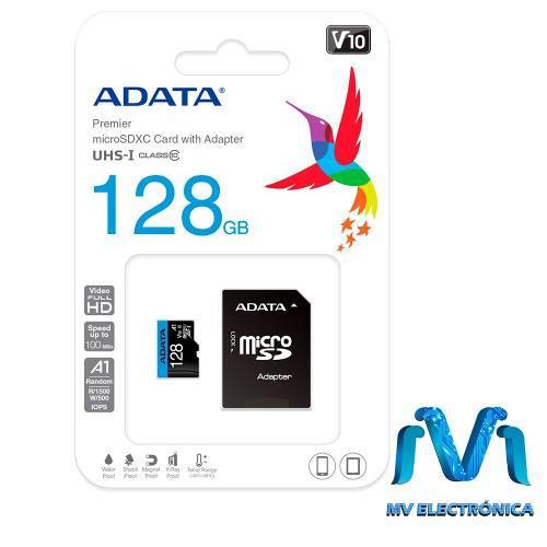 Memoria microsd 128gb adata micro sd 128gb clase 10 mv cel