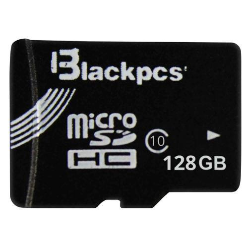 Micro sd 128 gb clase 10 blackpcs mm10101-128