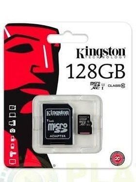 Micro sd 128gb kingston clase 10