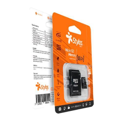Stylos * Memoria Micro Sd 16gb Clase 10 Celular Tablet Nueva