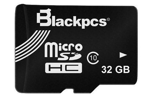 Tarjeta de memoria microsd 32gb clase 10 blackpcs mm10101