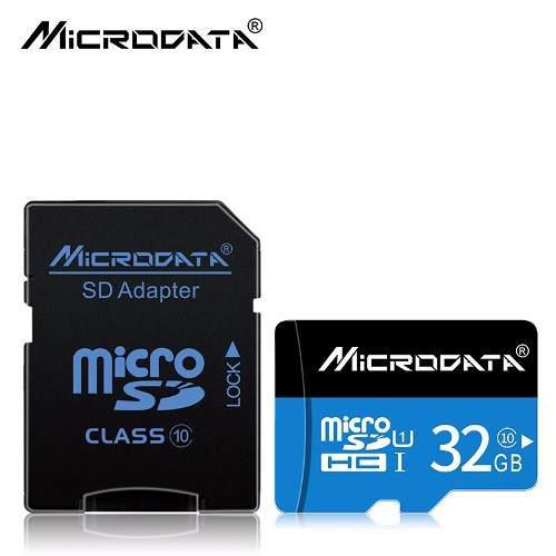 Tarjeta de memoria microsd 32gb clase 10 microdata micro sd