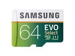 Tarjeta memoria micro sdxc evo select de samsung 64gb 80mb /