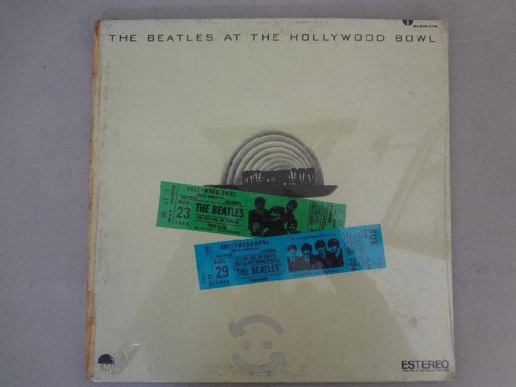 The Beatles At The Hollywood Bowl Vinil Nacional
