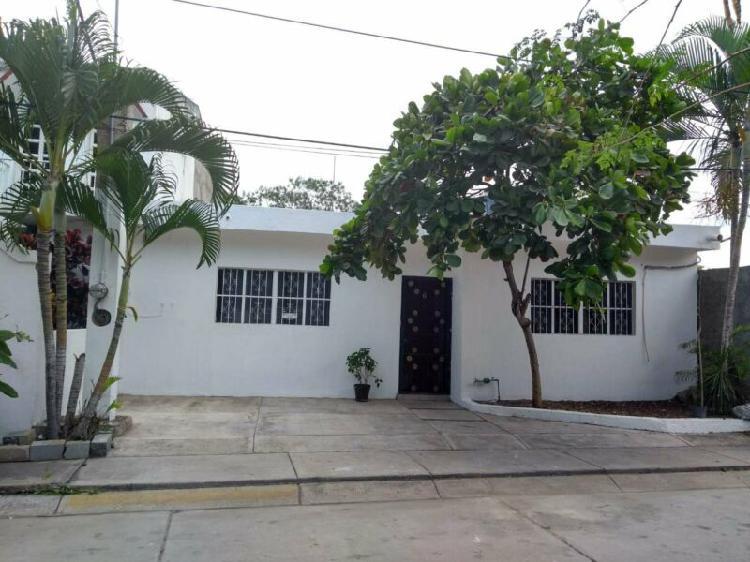 Casa en renta, amueblada, practica y funcional.