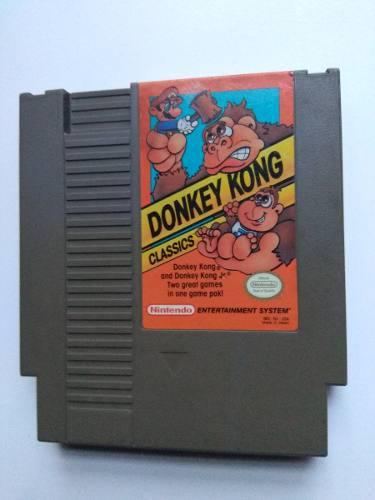 Donkey kong classics nes nintendo