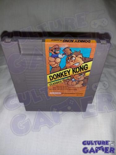Donkey kong classics original para tu nes en culture gamer