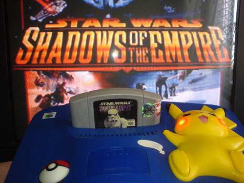 Nes 64 star wars shadows of the empire