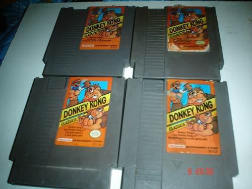Nintendo donkey kong classics 2 in 1 nes