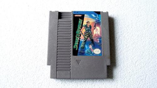 Snake revenge cartucho para nintendo nes 1990 metal gear