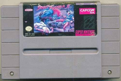 Snes street fighter 2
