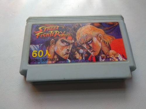 Street fighter ii turbo family famicom nintendo