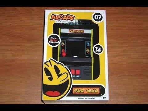 Video juego pac-man arcade classics 07 maquinita mini