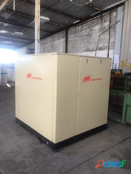 Compresor de tornillo marca ingersoll rand 75 hp
