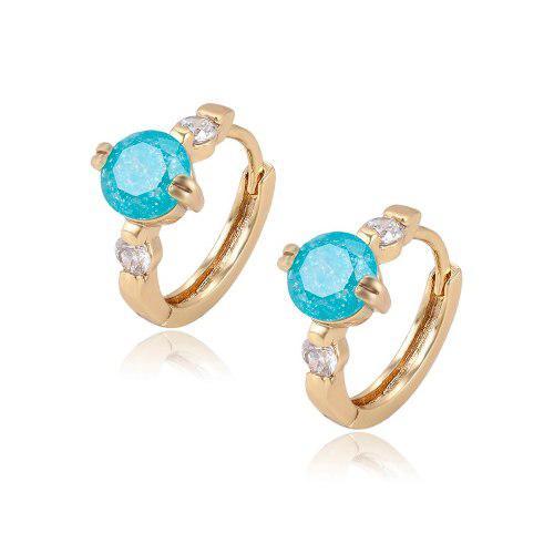 848d9316e5de Arracadas oro lam 14k con opalo y zirconias calidad diamante