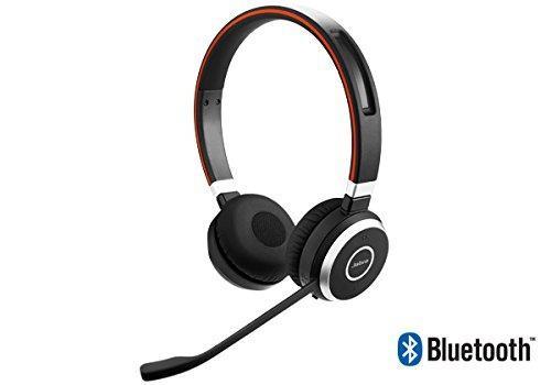 Jabra uc evolve 65 hilos estéreo / auriculares de la