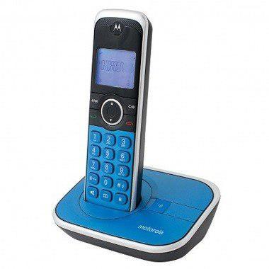 Telefono inalambrico motorola dect 6.0 gate4800a azul
