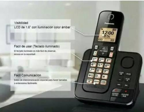 Telefono inalambrico panasonic con id altavoz y contestadora