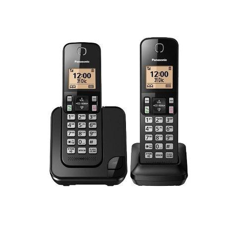 Telefono inalambrico panasonic kx-tgc352-2 altavoz id caller