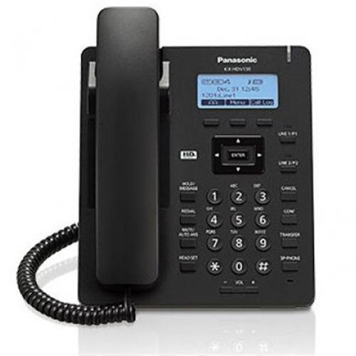 Telefonopanasonic kx-hdv130xb alámbrico pantalla lcd 2.3