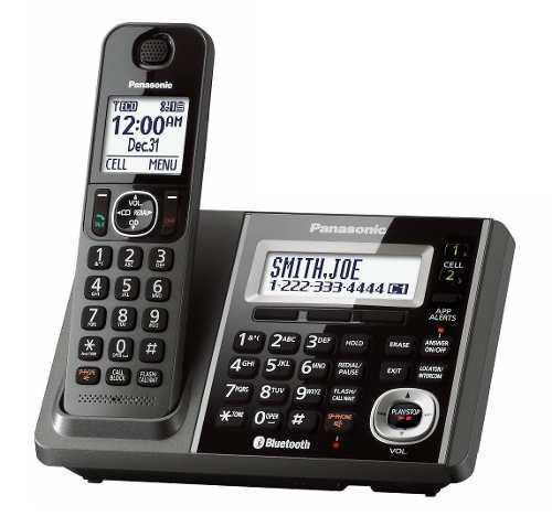 Teléfono inalambrico panasonic kx tgf370m bluetooth dect6.0