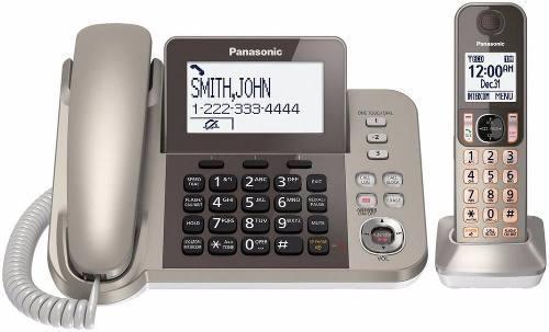 Teléfono inalámbrico panasonic kx tgf350-1 contestadora