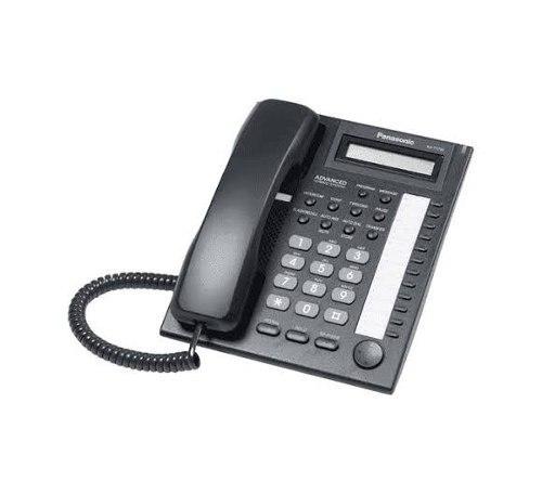 Teléfono panasonic kx t7730 (negro) factura