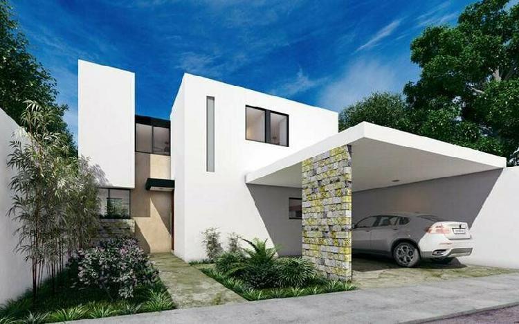 Casa nueva en venta en santa gertudis copo merida yucatan /