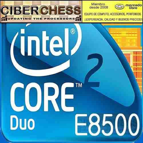 Intel core 2 duo e8500 3.16g/6mb/1333fs/775 procesador e8500