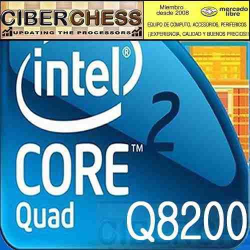 Intel core 2 quad q8200 2.33g/4mb/1333/775 procesador q8200
